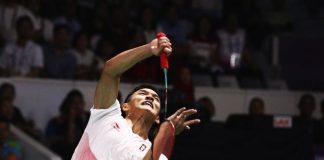 Jonatan Christie Rebut Emas Pertama Badminton Asian Games