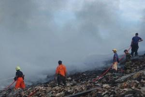 VIDEO: TPA Tamangapa Makassar Kebakaran