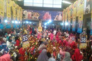 IGTKI Manggala Hadirkan 1225 Anak, Dalam Lomba Karnaval Profesi & Pakaian Adat Nusantara