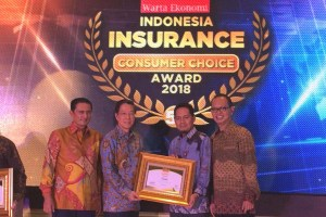 Sequis Sukses Raih Penghargaan Indonesia Insurance Consumer Choice Award 2018