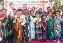 Ratusan Anak di Sunat Massal di Kecamatan Bontoala
