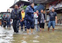 Camat Manggala Pantau Sejumlah Titik Rawan Banjir