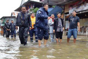 Camat Manggala Pantau 6 Kelurahan Rawan Banjir