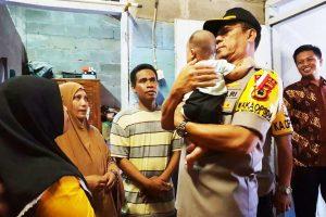 Rumah Korban Penembakan di Papua Dikunjungi Wakapolda Sulsel