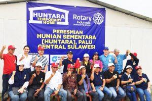 Sequis Bantu Pembangunan 50 Huntara di Palu