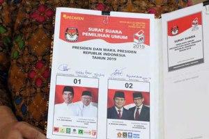 Desain Surat Suara untuk Pemilihan Presiden Sudah Disepakati