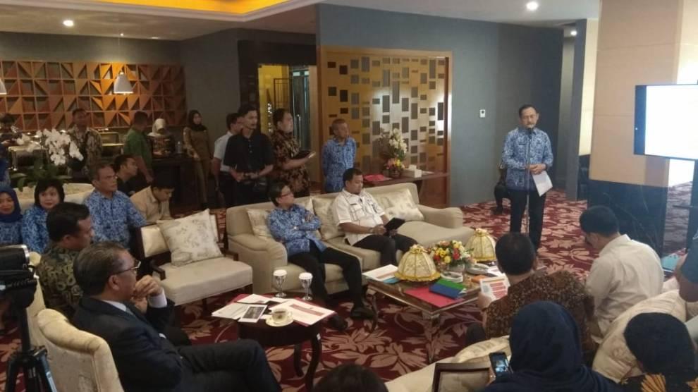 Tiga Calon PJ Walikota Makassar paparkan inovasinya didepan Gubernur dan Wakil Gubernur Sulsel