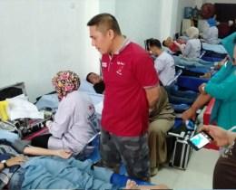 Ratusan Pendonor Berpartisipasi dalam Donor Darah PMI Rappocini