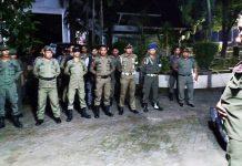 Patroli Satpol PP Sulsel, Pastikan Keamanan Masyarakat Jelang Pemilu Serentak