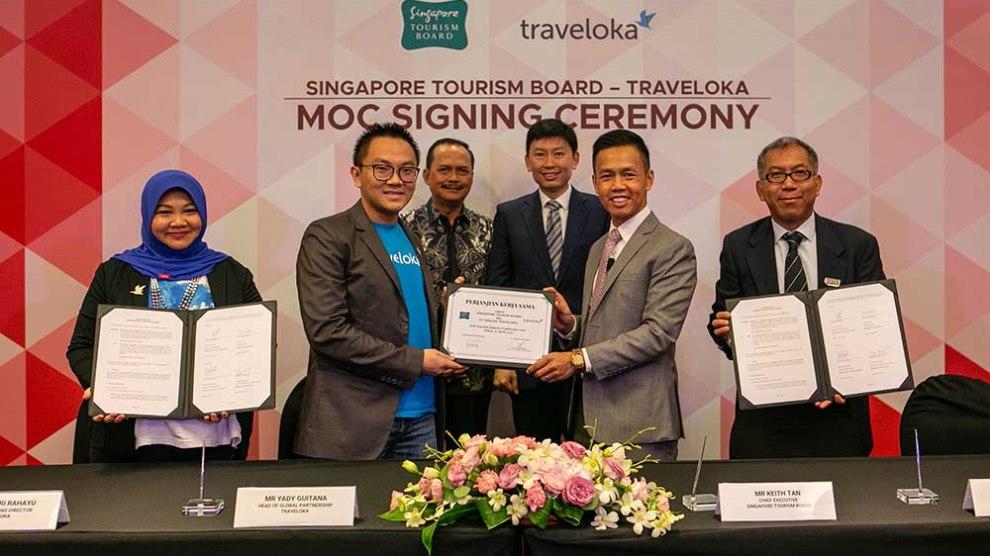 Kerja sama STB dan Traveloka untuk Menarik Lebih Banyak Pengunjung Asia Tenggara ke Singapura