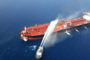 Amerika Tuding Iran atas Serangan Dua Tanker Minyak di Teluk Oman