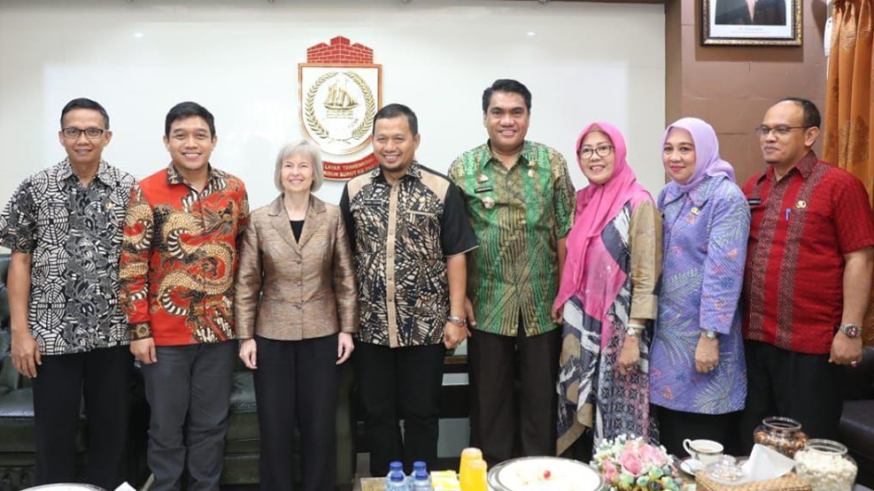 Delegasi Amerika Kunjungi Makassar Jajaki Kerja Sama Program Smart City