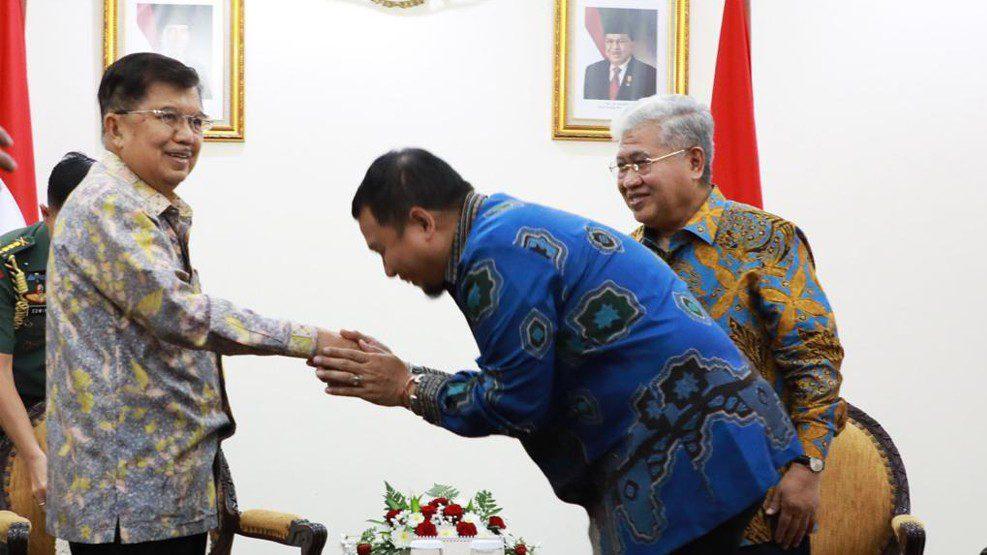 PJ Walikota Makassar Temui Wapres, Bahas pelaksanaan PSBM