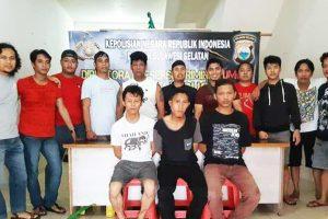 Polisi Ringkus Pencuri Baterai Tower Lintas Daerah