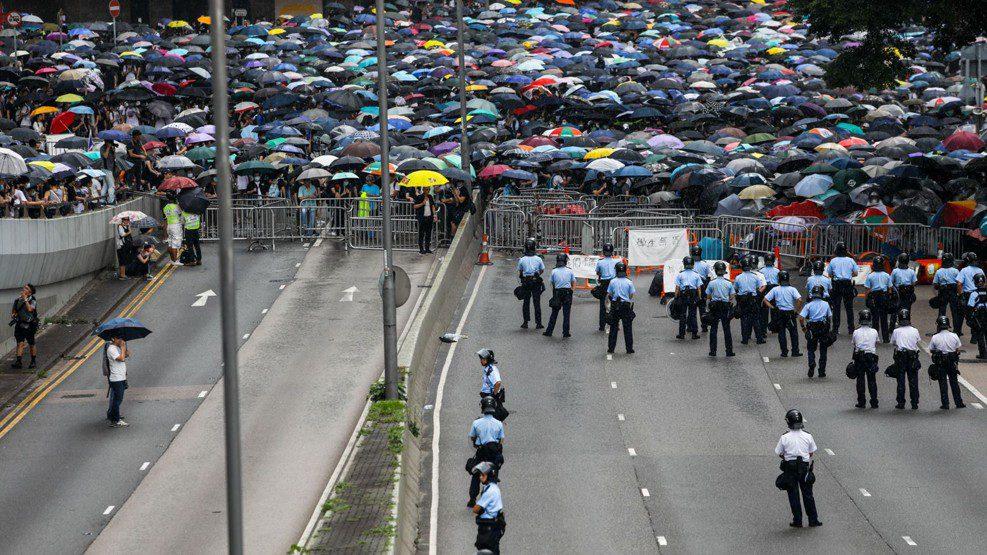 Protes RUU Ekstradisi di Hong Kong Terus Berlanjut