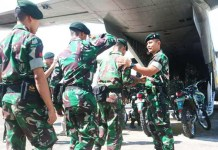 Satu SSK Yonif Raider 700 Makassar Diterjunkan ke Buton