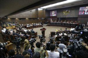 MK Putuskan Tolak Seluruh Permohonan Gugatan Hasil Pemilu Presiden 2019