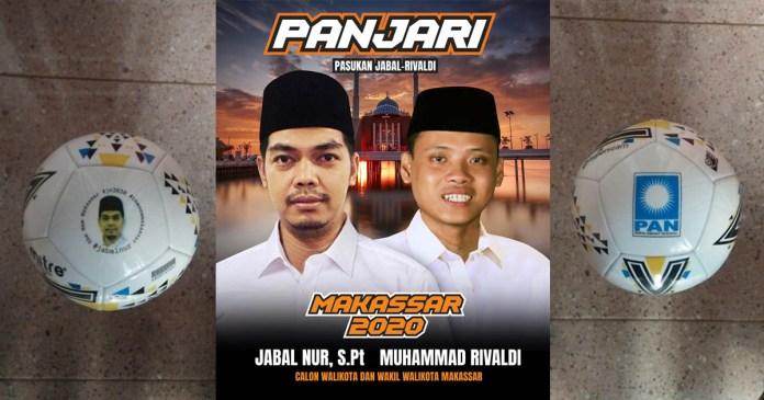 Jabal Nur Siapkan 10 Ribu Bola untuk Anak Lorong Makassar