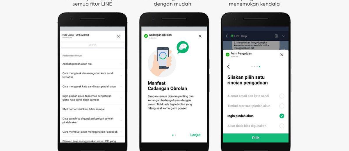 LINE Indonesia Hadirkan Akun Resmi LINE Help sebagai Sumber Utama Informasi Pelayanan Pelanggan
