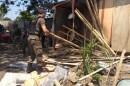 Satpol PP Kembali Tertibkan Eks Kantor Dinas Perhubungan Makassar