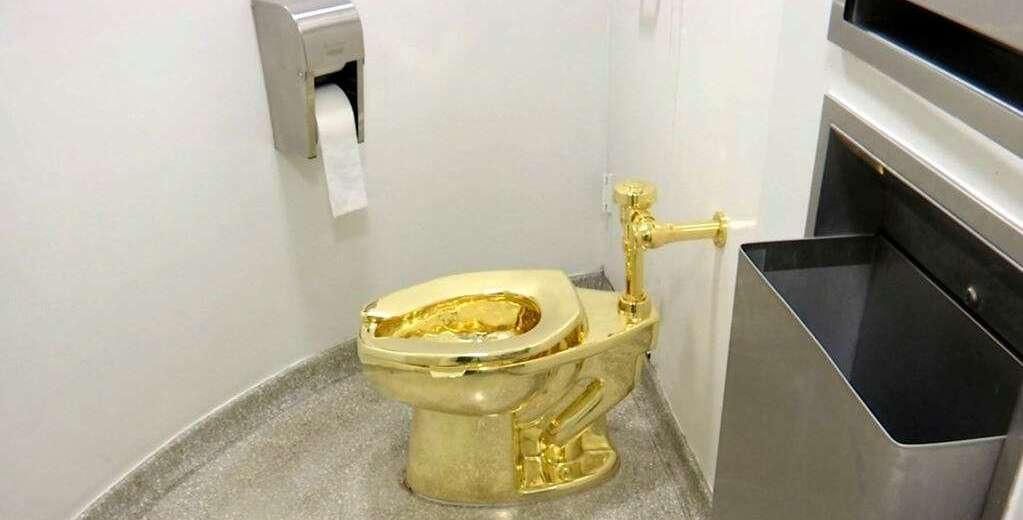 Toilet Emas Dicuri dari Istana Blenheim di Inggris