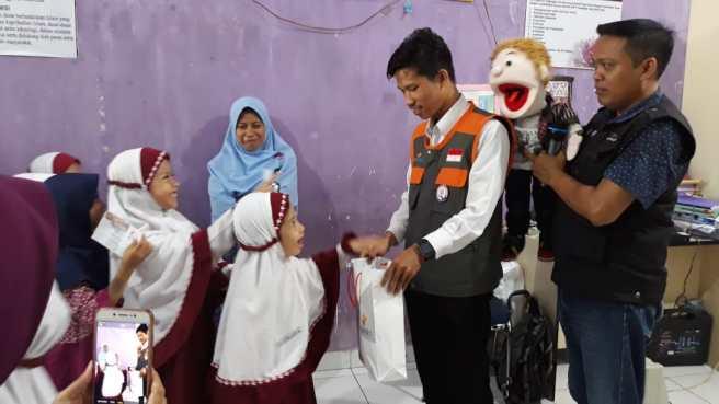 Peduli Gaza, SDIT Insantama dan Yatim Mandiri Gelar Sedekah Dongeng (1)
