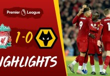 Liverpool 1-0 Wolves