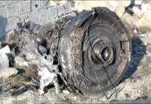 Pesawat Ukraina Ditabrak Sebelum Jatuh di Iran