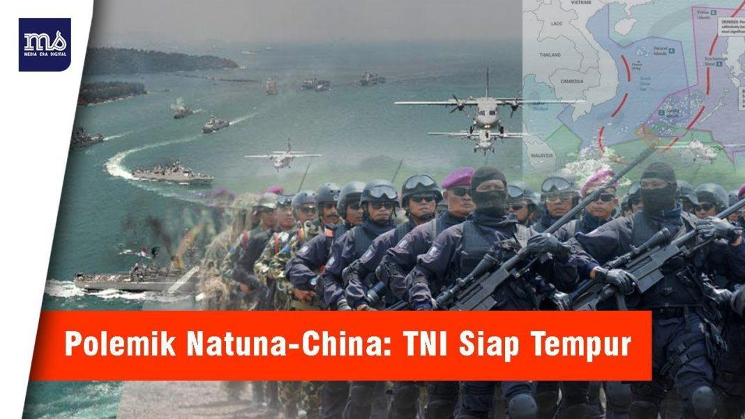 Prajurit TNI Siaga Tempur Amankan Natuna