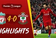 Liverpool vs Southampton, The Reds Menang Telak 4-0 | Pekan ke-25 Liga Inggris
