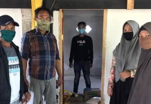 Kades Temban Enrekang, Bantu Warga yang Jalani Karantina Mandiri