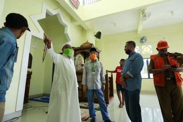 Pj Walikota Keliling Masjid, Pastikan Protokol Kesehatan Dijalankan
