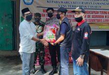 Sekretaris LLDIKTI IX Serahkan Paket Ramadhan Terdampak Covid-19 di Tamangapa