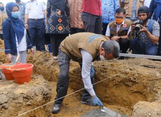 Pemprov Sulsel Bangun 50 unit Huntap Bagi Korban Banjir Bandang di Lutra