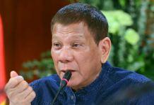 Presiden Filipina Perintahkan Kepala Pabean Tembak Mati Penyelundup Narkoba