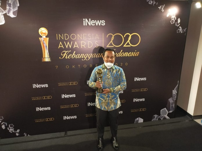 Kembangkan Infrastruktur Daerah Terpencil, Pemprov Sulsel Raih Penghargaan Indonesia Award