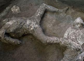 Ditemukan Dua Jasad Sisa Letusan Gunung 2.000 Tahun Lalu