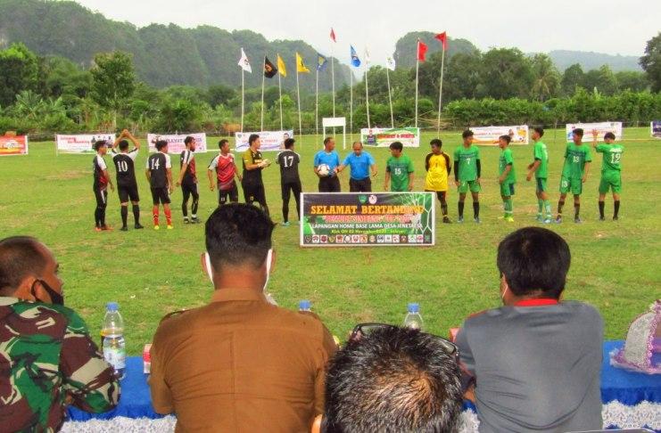 Turnamen sepak bola Pemuda Simbang Cup 2020