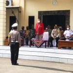 Polres Selayar Laksanakan Apel Gelar Pasukan Tandai Mulainya Operasi Lilin 2020
