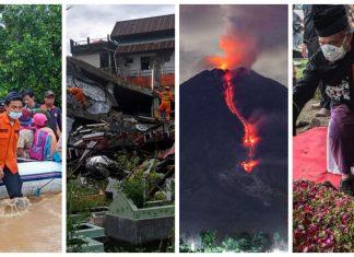 Pekan ke-2 di Tahun Baru, Indonesia Dilanda Beragam Bencana