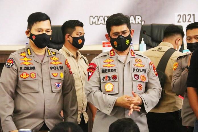 18 Terduga Teroris Jaringan JAD Ditangkap di Makassar