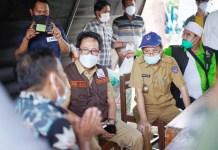 Tiba di Malunda, Rombongan Sulsel Peduli Gempa Sulbar Serahkan Bantuan Ke Pemkab Majene