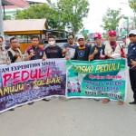 Masjid Nurut Tijarah Sinjai dan Komunitas Sepeda Expedition Antar Bantuan Korban Gempa ke Mamuju