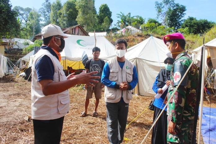 Tenda Huntara AMCF di Kampung Talibu Mamuju Ditempati 459 Jiwa