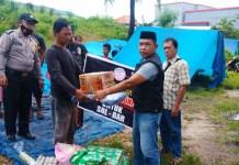 LIPAN Serahkan Bantuan untuk Penyintas Gempa Sulbar