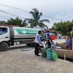 AMCF Alirkan Air Bersih di Posko Pengungsian dan Rumah Warga Pasca Gempa Sulbar