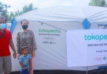 Dompet Dhuafa-Tokopedia Salurkan Bantuan Logistik untuk Korban Gempa Sulbar