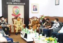 Bangun Sinergi, Danny-Fatma Sambangi Gedung DPRD Makassar
