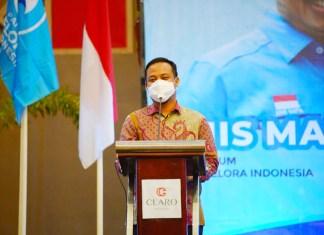 Plt Gubernur Ajak Kader Partai Gelora Berkontribusi Memajukan Sulsel