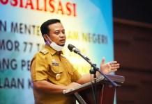 Andi Sudirman Sulaiman, Plt Gubernur Sulsel.